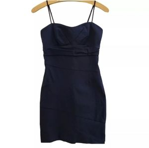 Ruby Rox Spaghetti Strap Fitted Mini Dress D42